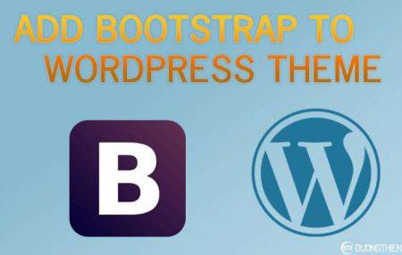 Liên kết Bootstrap vào chủ đề WordPress