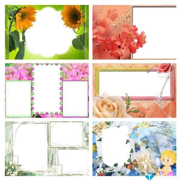PNG Frames Collection Part 6 – Bộ sưu tập khung ảnh khổng lồ