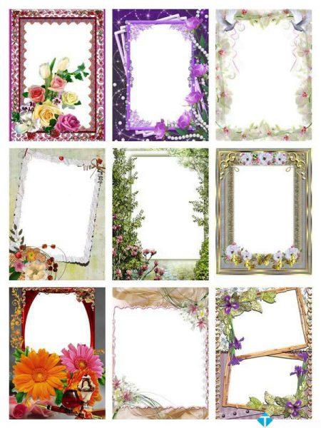 PNG Frames Collection Part 8 – Bộ sưu tập khung ảnh khổng lồ