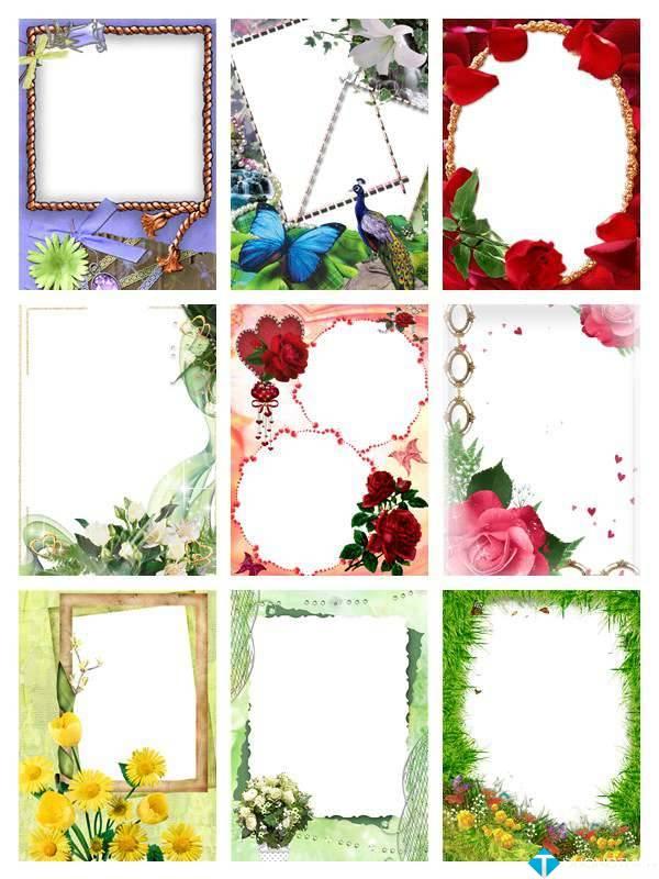 PNG Frames Collection Part 9 – Bộ sưu tập khung ảnh khổng lồ