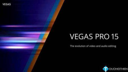 Magix Vegas Pro 15 –  Biên tập video tốt nhất