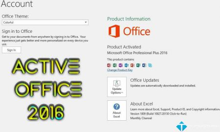 Active Office 2016 nhanh chóng bằng code