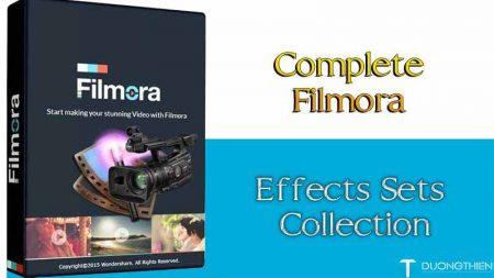 Filmora 8.5.3 & Complete Filmora Effects Sets Collection