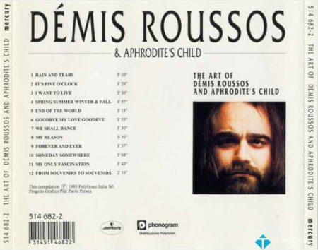 [FLAC]The Art Of Demis Roussos And Aphrodite's Child –  Demis Roussos