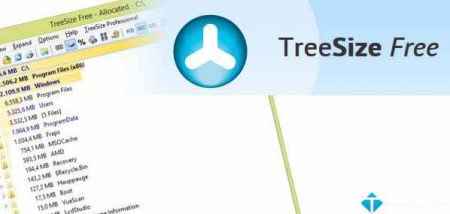 TreeSize Free –  Quét kích thước thư mục nhanh chóng