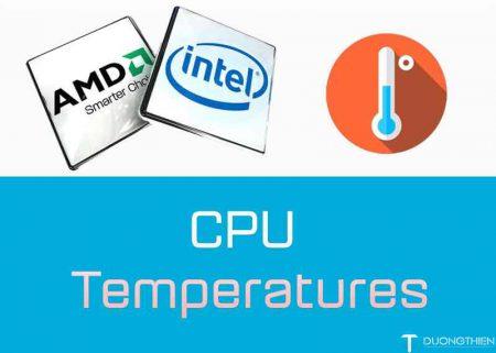 Hướng dẫn kiểm tra nhiệt độ CPU và biện pháp khắc phục