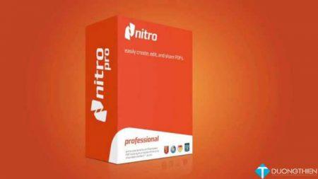 Nitro-Pro-v10.5 64bit – Chỉnh sửa PDF mạnh mẽ