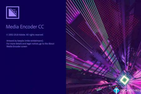 Adobe Media Encoder CC 2019 – Chuyển đổi video mạnh mẽ