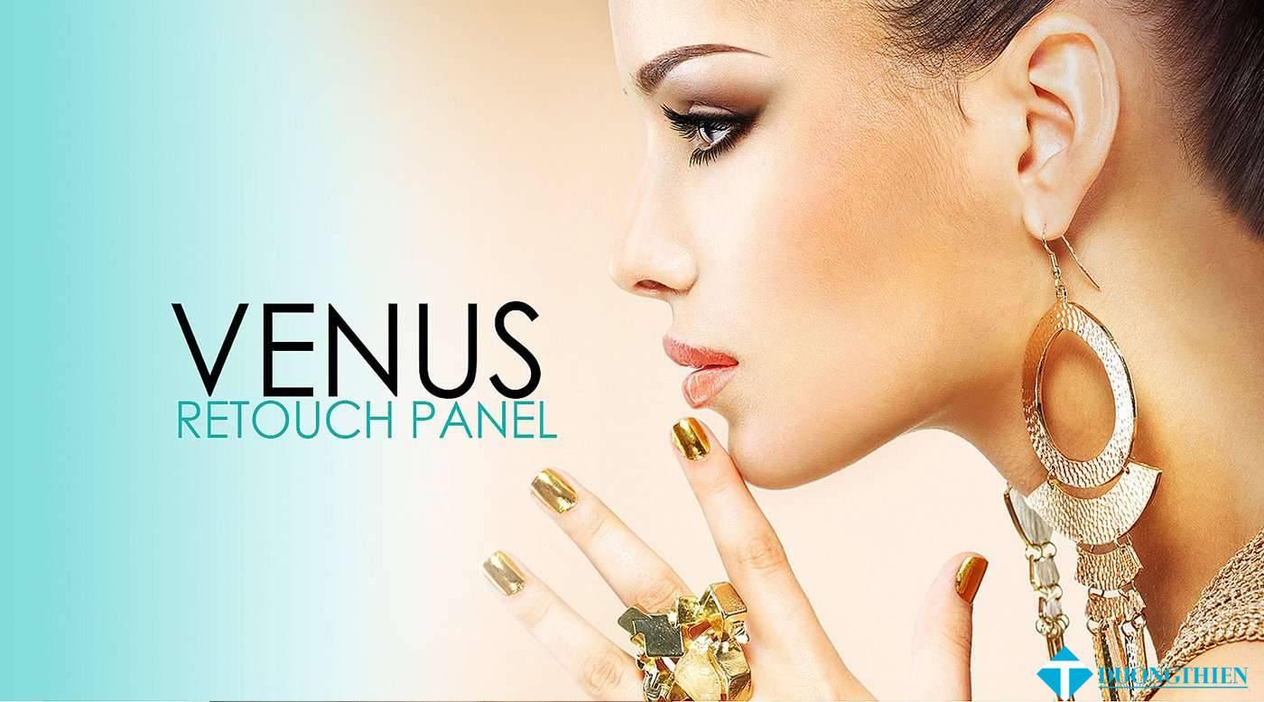 Venus Retouch Panel 3.0.0 –  Plugin retouch mạnh mẽ cho PS