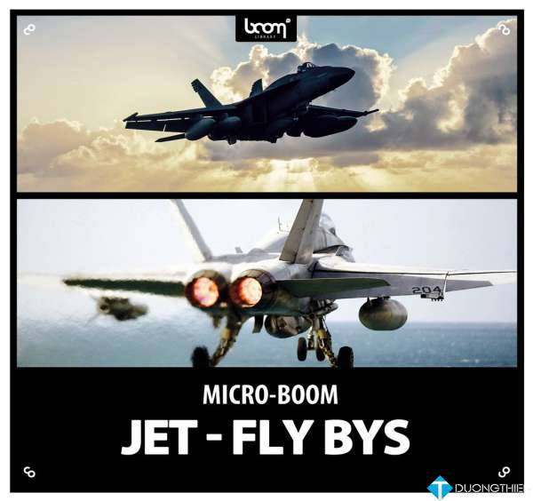 Boom Library – Jet Fly Bys