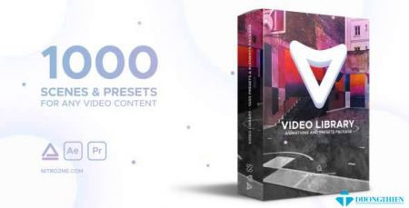 1000 Sences and Preset – Video Library – Video Presets Package