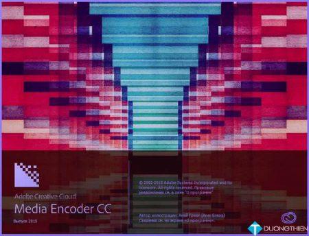 Adobe Media Encoder CC 2015 – Phần mềm render video của hãng Adobe
