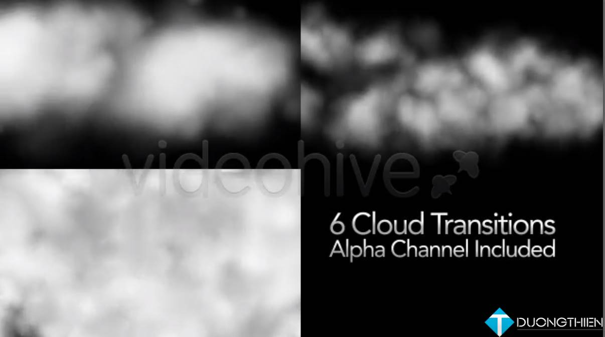 [AE Project]Flying Through Clouds Transition 6 Styles