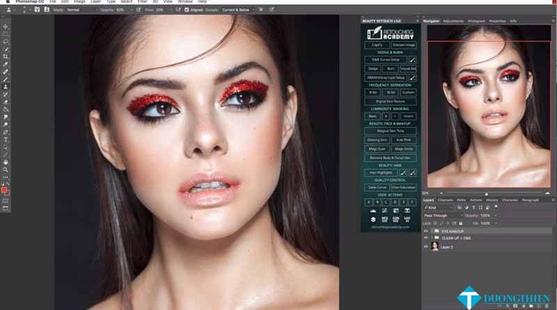 RA Beauty Retouch Panel 3.2 with Pixel Juggler for Photoshop
