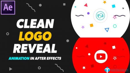 Skillshare – 2D Clean Logo Reveal Animation in After effects