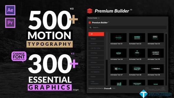 Motion Typographyy V5 (20645019)