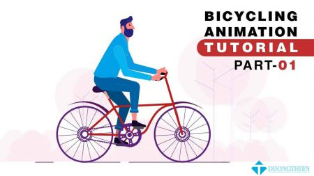 AE Tutorial – Character Cycling, Bicycle Animation